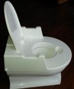 Vendo Pequeño váter infantil de plástico color blanco. Nuevo