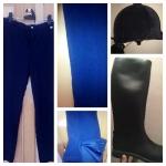 Vendo Conjunto Unisex equitación de pantalón, botas y casco